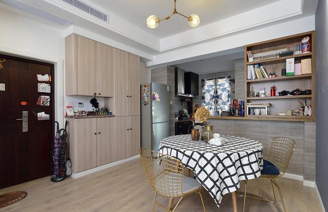 老婆7万装修89㎡新房,空间收纳非常完美,小户型装修不要错过