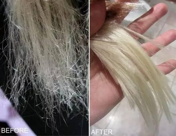 头发做毁了除了撕x,还能干什么?图片
