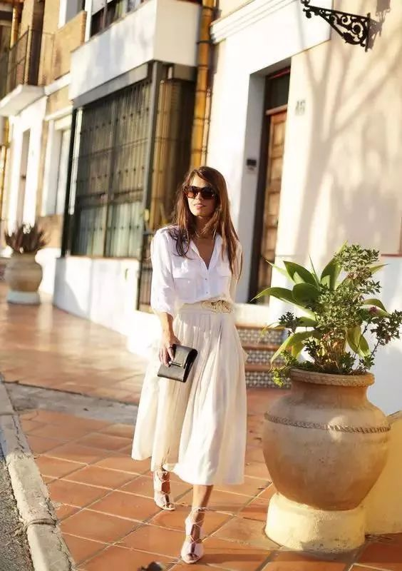 白衬衫这样搭,让你分分钟穿出高级感!