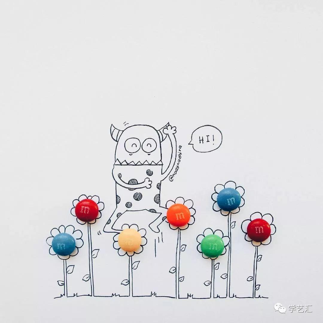 泡面手绘图画