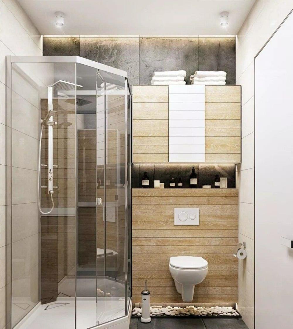 小户型卫生间装修效果图二