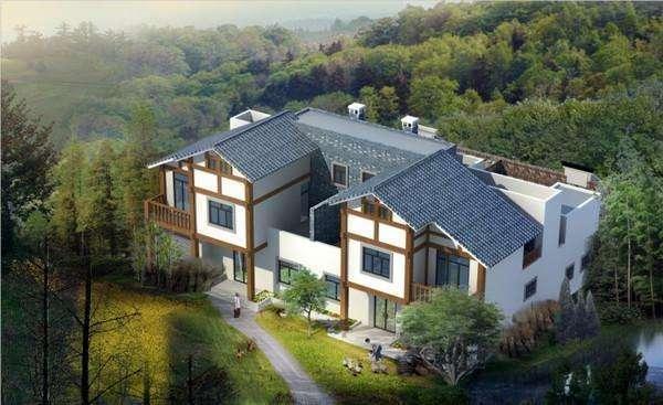 别墅设计图纸及效果图大全带庭院