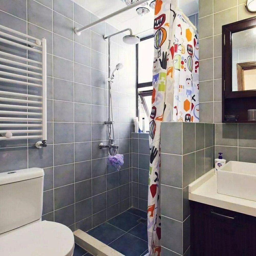 小卫生间装修设计,干湿分离一样不可少