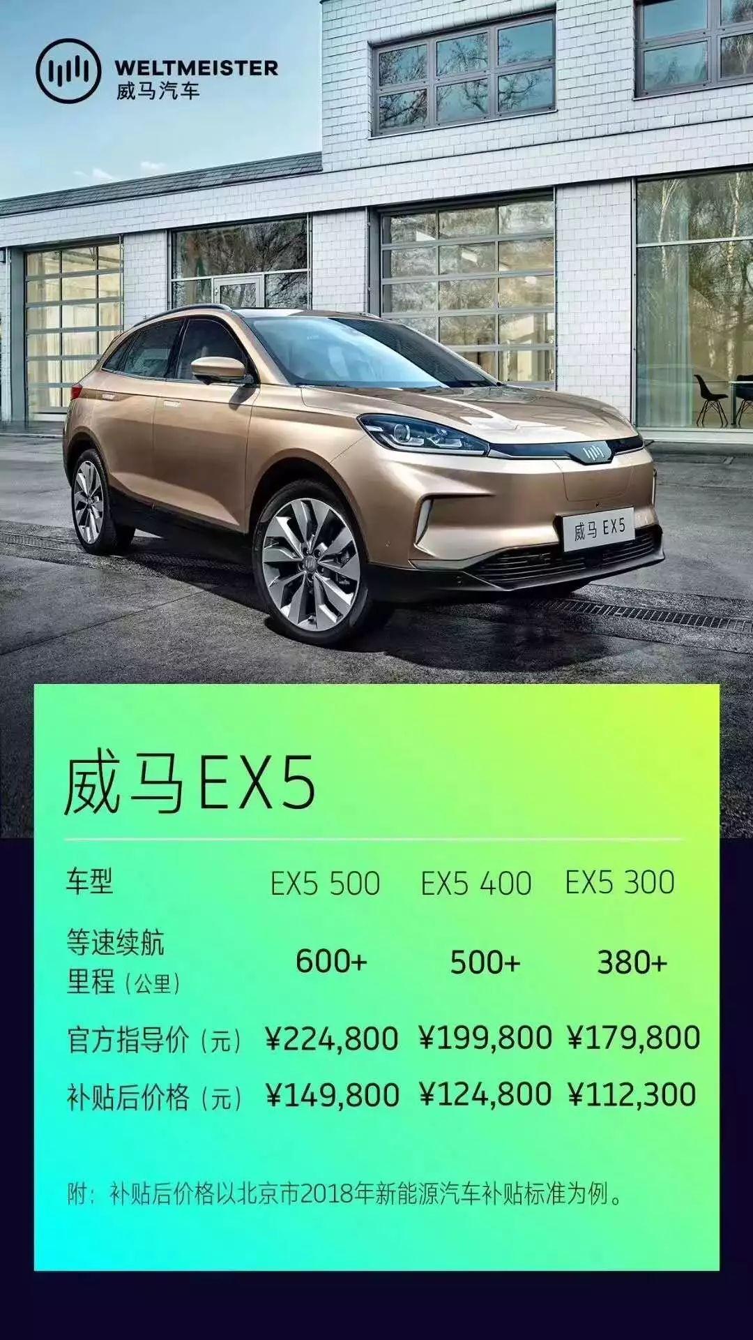 威马EX5上市:以普及之名,截胡特斯拉,洗牌电动车!