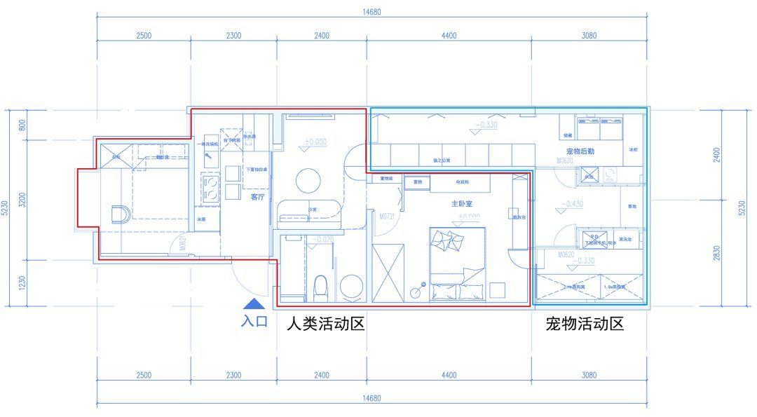 天猫房屋设计平面图