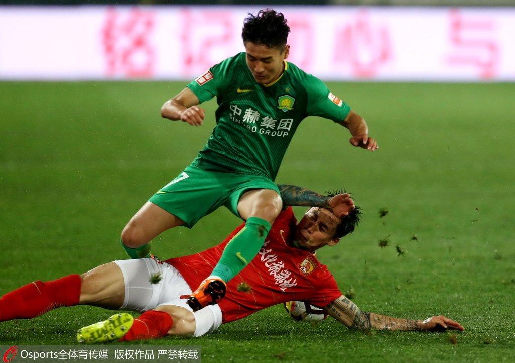 中超U23报告:黄紫昌刘军帅闪光 3名国脚将停赛
