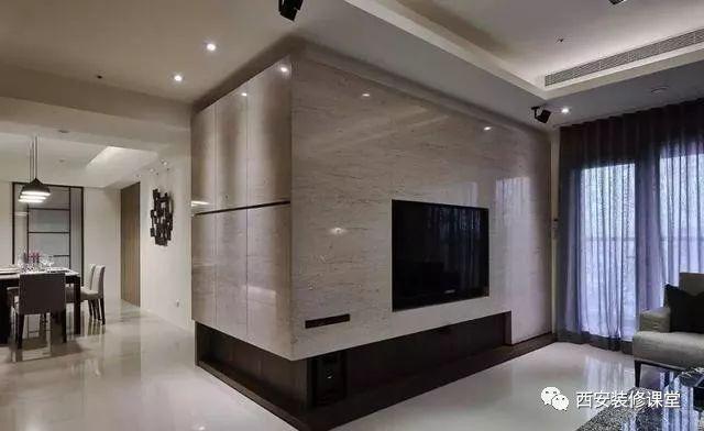 瓷砖做电视墙,实惠又环保4.22