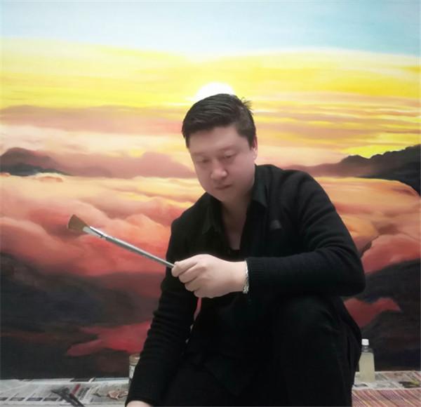 著名画家赵兴国 新时代的奋斗者