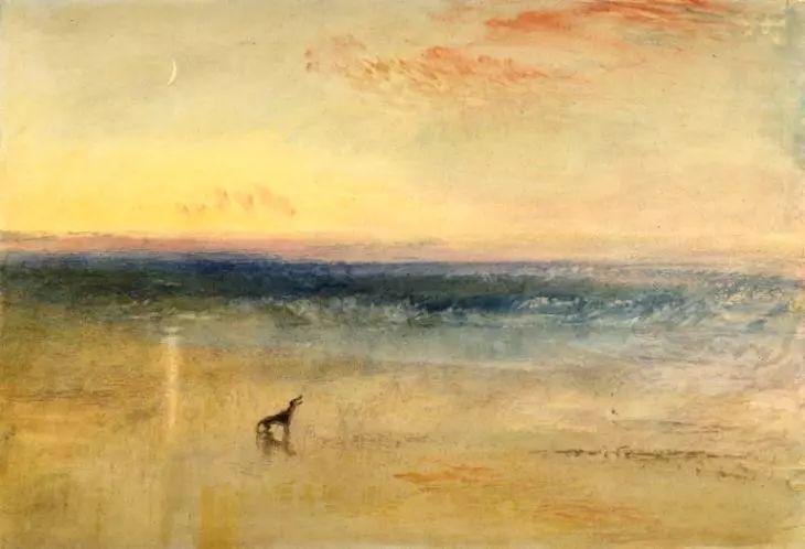 在今年国内最大英国风景画展上,邂逅印象派先驱透纳先生图片
