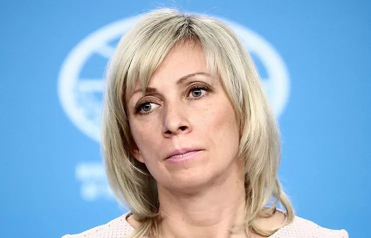 俄罗斯外交部发言人扎哈罗娃 (图片来源:塔斯社)图片