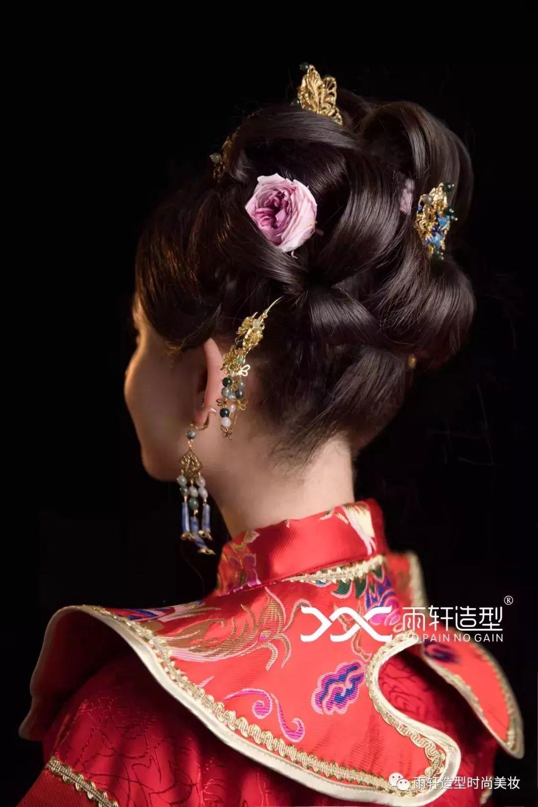 2018经典中式新娘造型,化妆造型师收藏好!