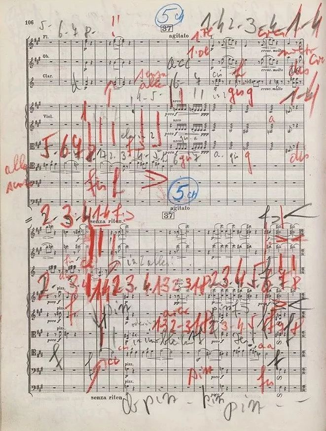 小提琴家梅纽因的乐谱,巴赫《小提琴无伴奏奏鸣曲》no.2