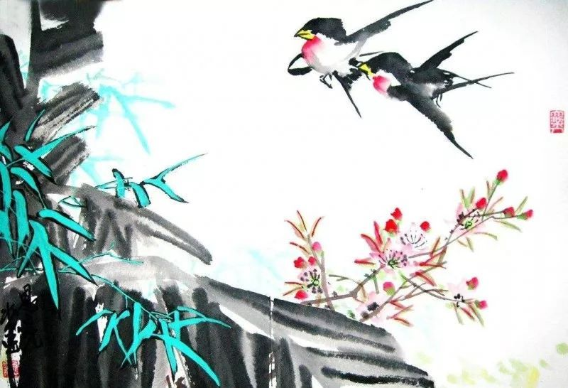 小燕子,穿花衣,年年春天来这里