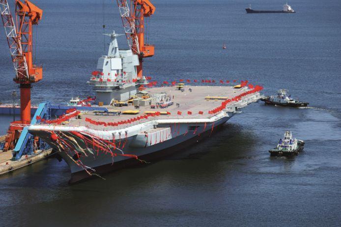 大连造船厂航母_揭秘:中国首艘国产航母到底什么水平?