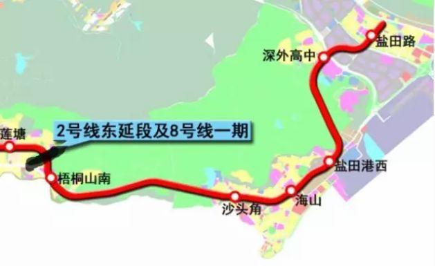 以后去海边可以坐地铁啦 深圳这趟开往海边的地铁终于要来了
