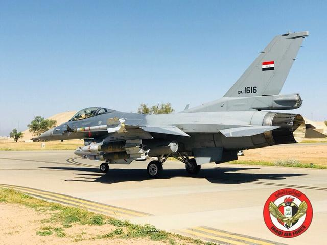 伊拉克F-16向叙利亚境内极端组织发动空袭,一导弹立大功