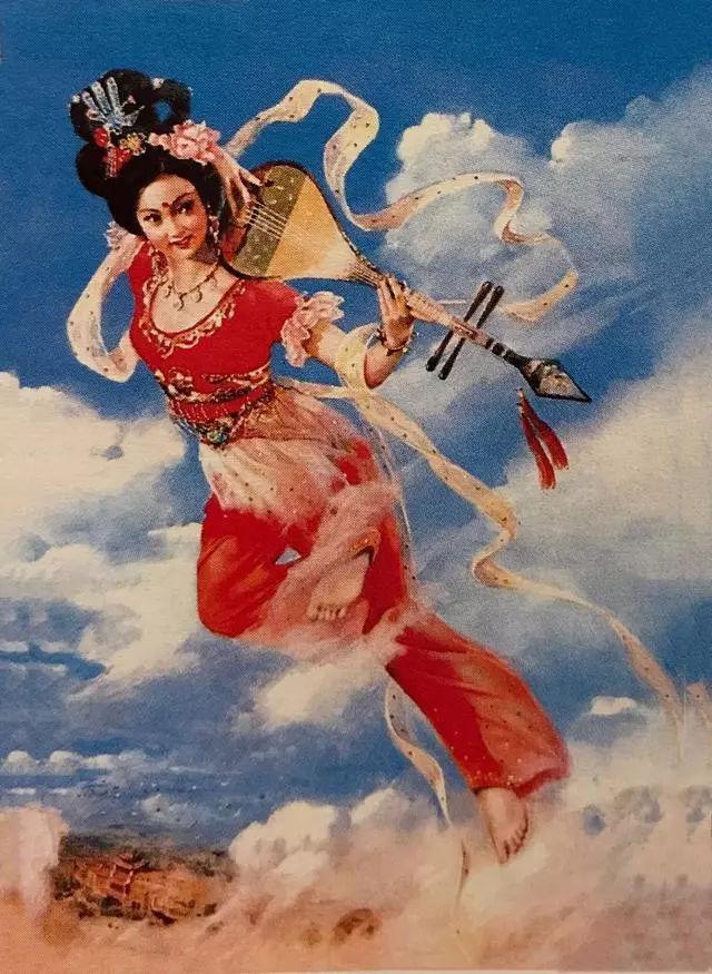 中国美女年画图,真的罕见,非常真的美极了!人美女宝马撞图片