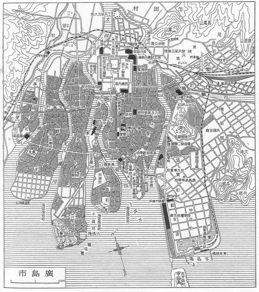 广岛地图概览