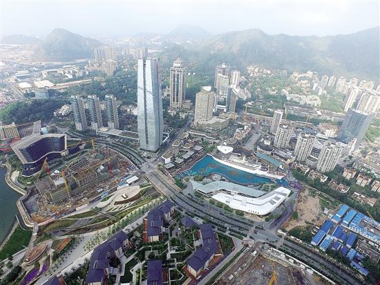 前海蛇口去年利用外资占深圳六成图片