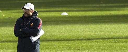 迪帅:罗马依靠整体踢球 争取抓住利物浦的弱点