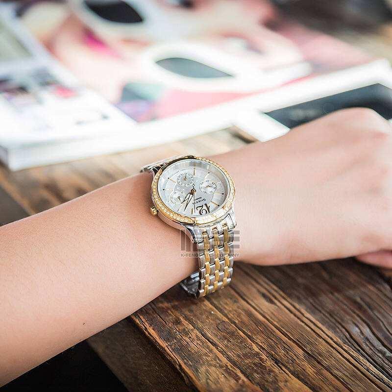 看看你的女神戴什么高端腕表?