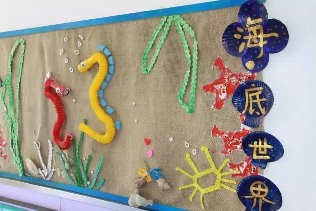 幼儿园走廊环创 创意吊饰,非常实用!| 巧手教育图片