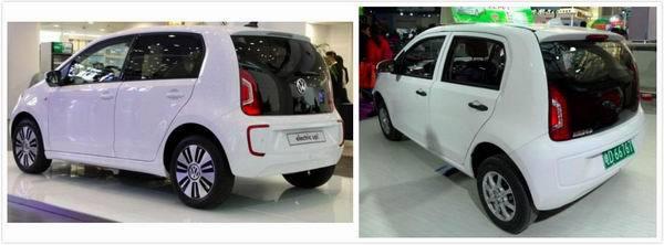 """一款中国低速电动车竟引外媒关注:因为""""克隆""""大众e-Up"""