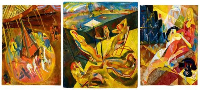 大胆人体艺术写真189_《大地无形》 成交价:hk$ 182,900,000 lot 189 周春芽《躺著的人体