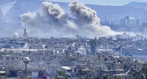 叙利亚大马士革市场遭到武装分子袭击 致4死15伤