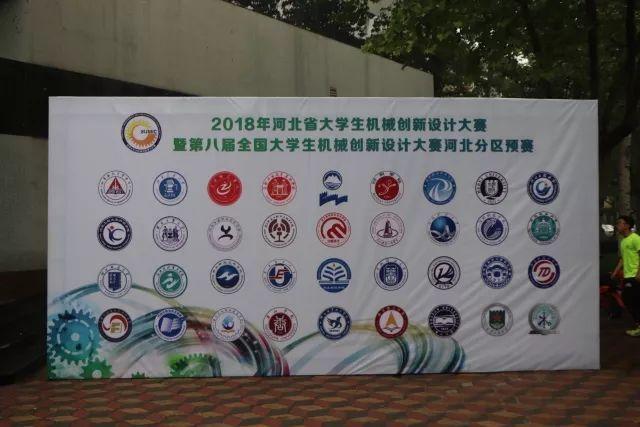 河北省大学生机械创新设计大赛在我校成功举办图片
