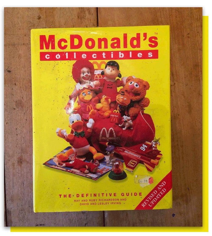 麦当劳周边收藏指南:如果20年前有这个,我光吃汉堡就发财了