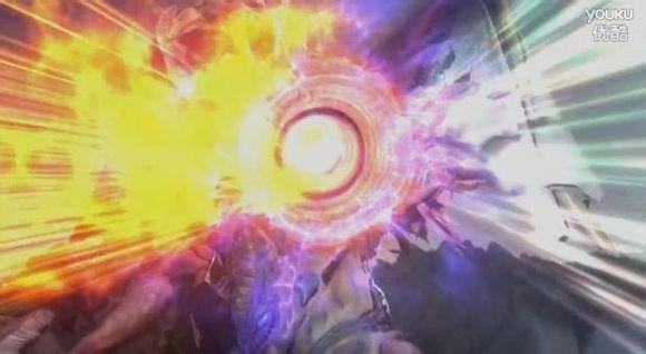 眼q之力,能吸收能量和反弹能量   五帝兽头部发射的光线    眼q部分被m87光线破坏,雷丘巴斯部分被斯卑修姆光线击断,哥尔赞、美尔巴头部被艾梅利姆光线击中,超戈布的脸部分被奥特射打中,翅膀部分被梅塔利姆光线、维克特利姆射线破坏,彻底丧失了战斗力, 最终图片