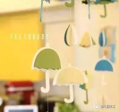 适合幼儿园的手工吊饰环创制作,美到不行了!