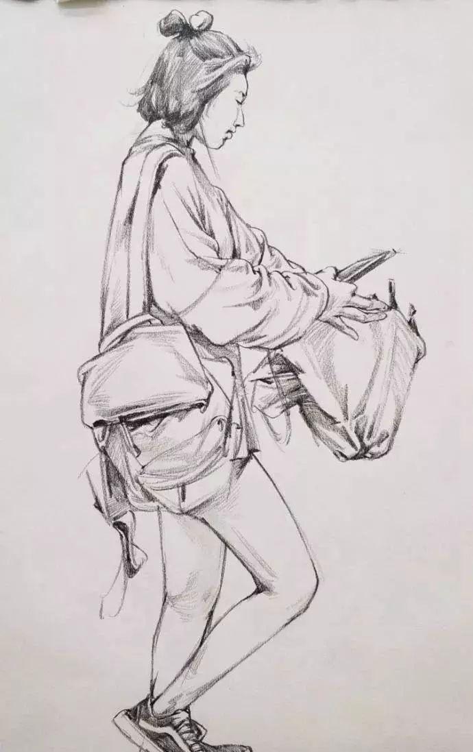 服装效果图 手绘 脚