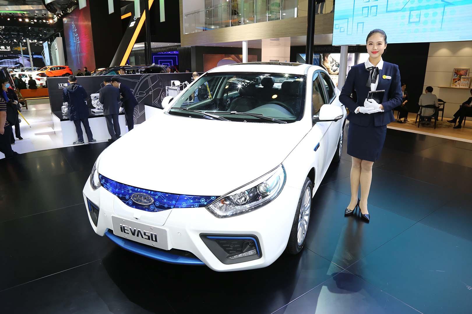 新能源领域破局者 江淮iEVA50正式上市
