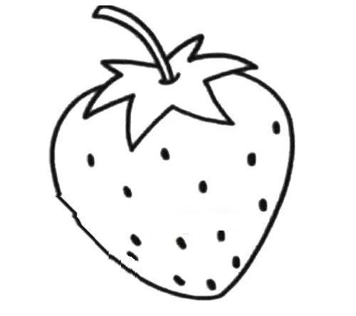 60 水果蔬菜简笔画 收藏