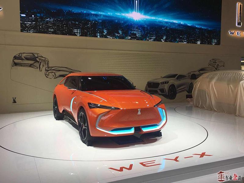 携三款新车登陆北京车展,WEY继续践行品牌向上使命
