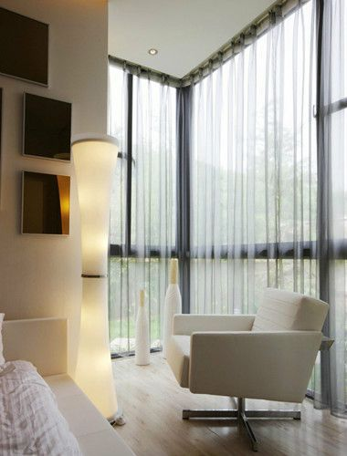 別墅臥室窗簾