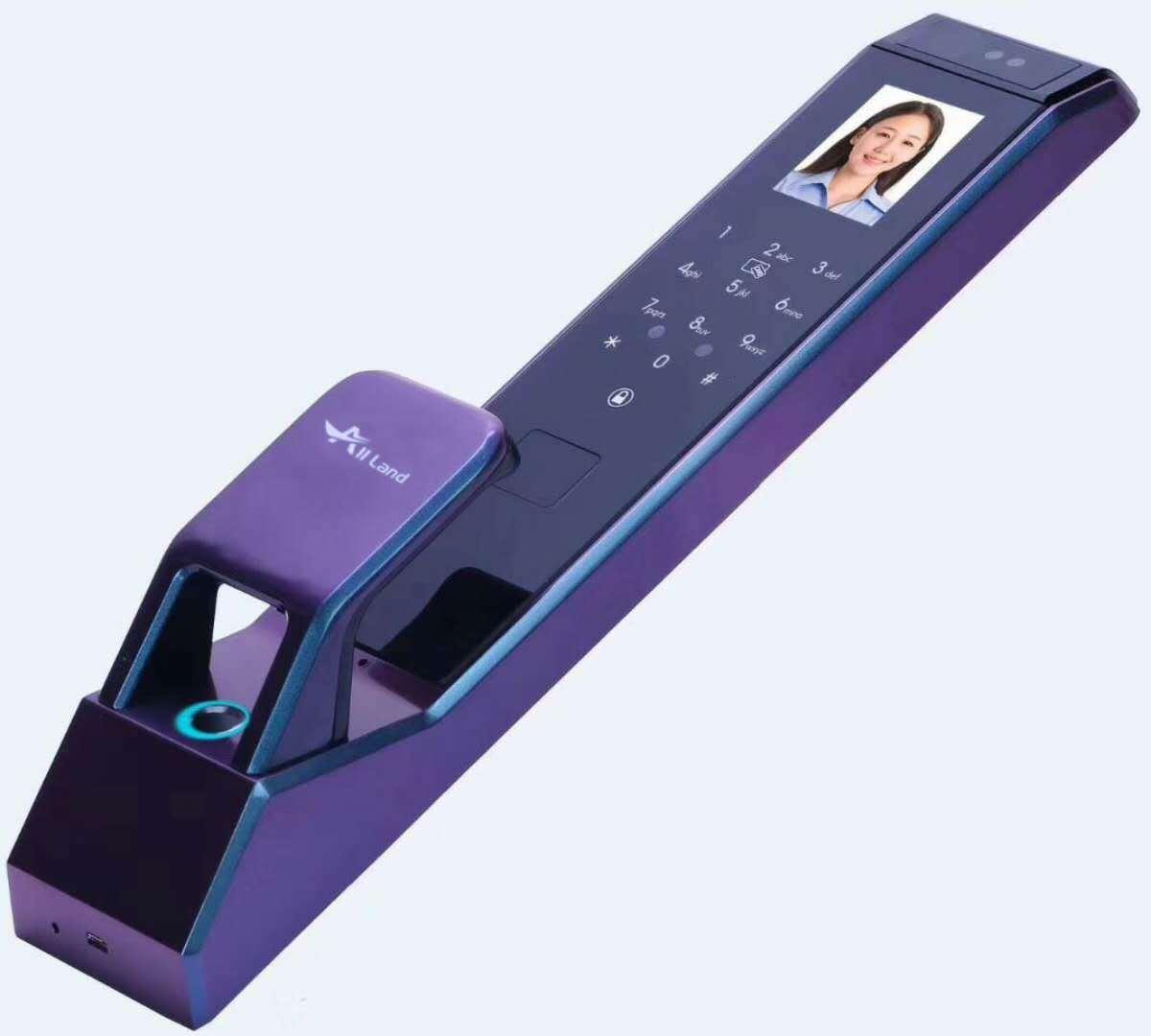 人臉識別鎖:手機遠程視頻開門,