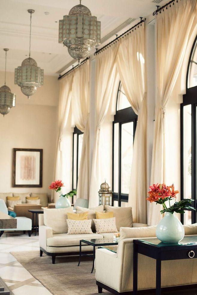 別墅挑高窗簾