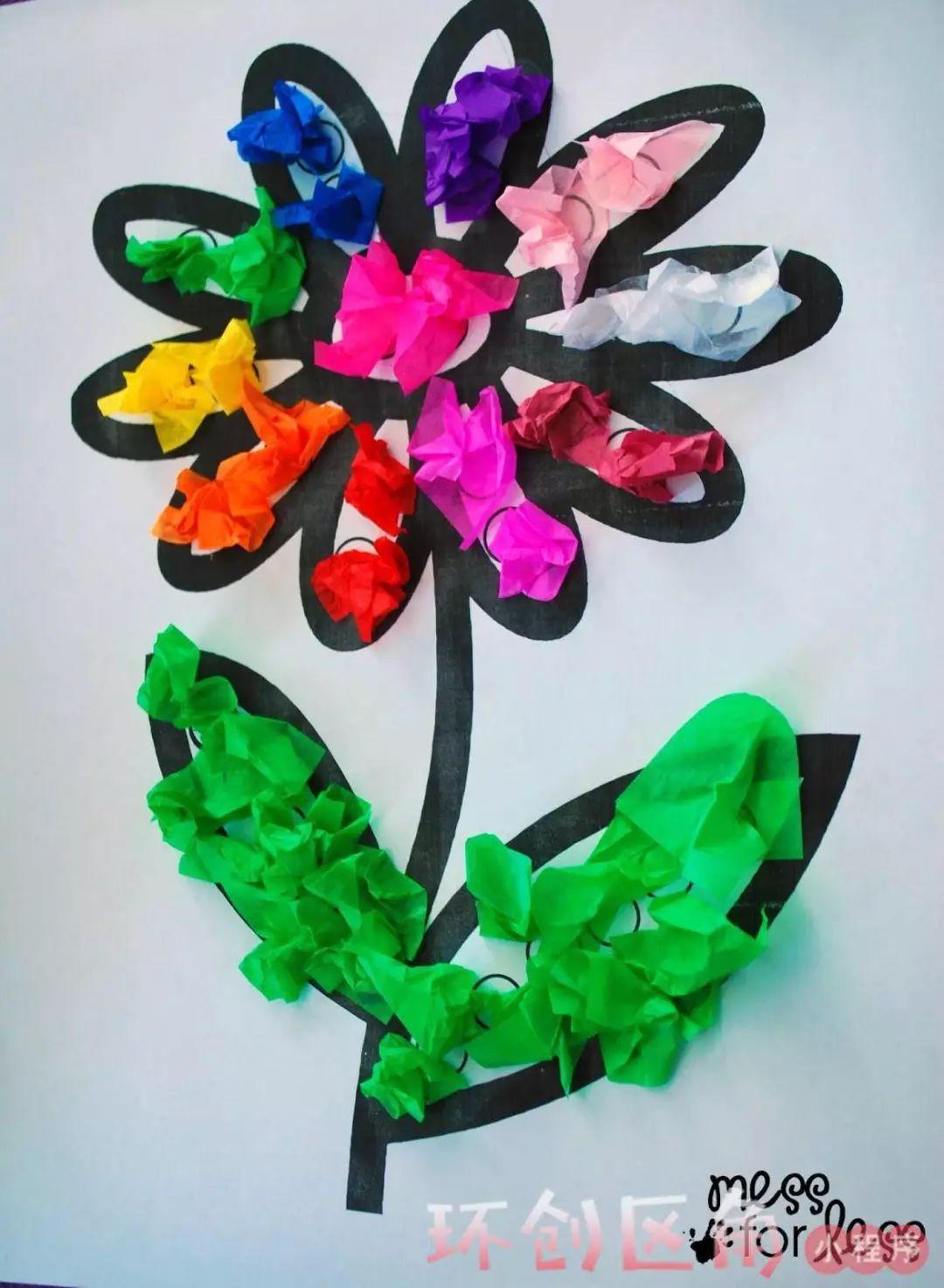 以假乱真的幼儿园皱纹纸手工,吊饰,美爆了!