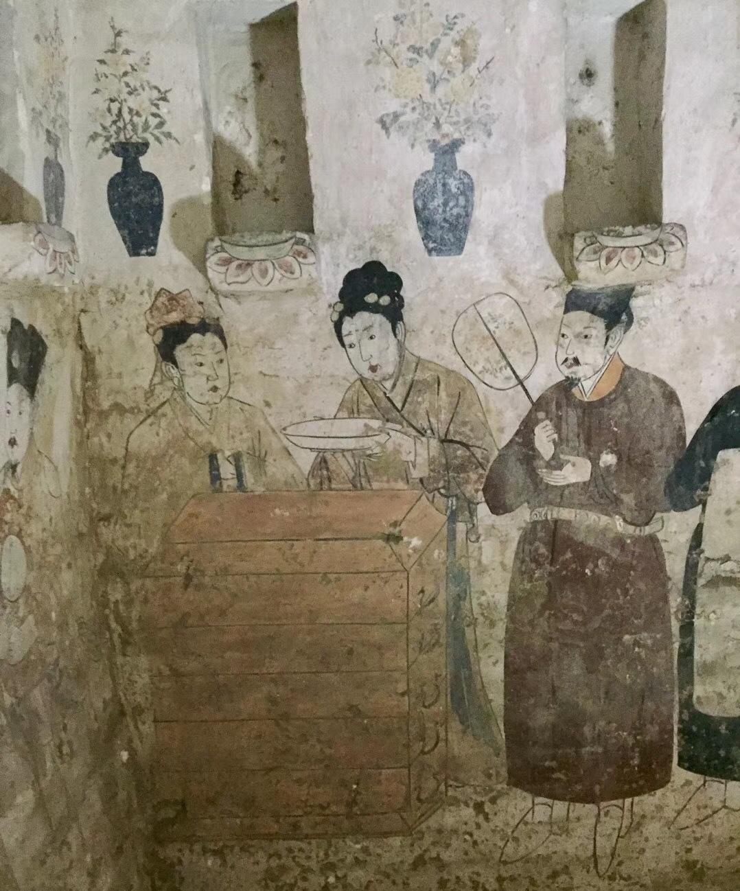 【图】宣化辽墓壁画_北京博文书社