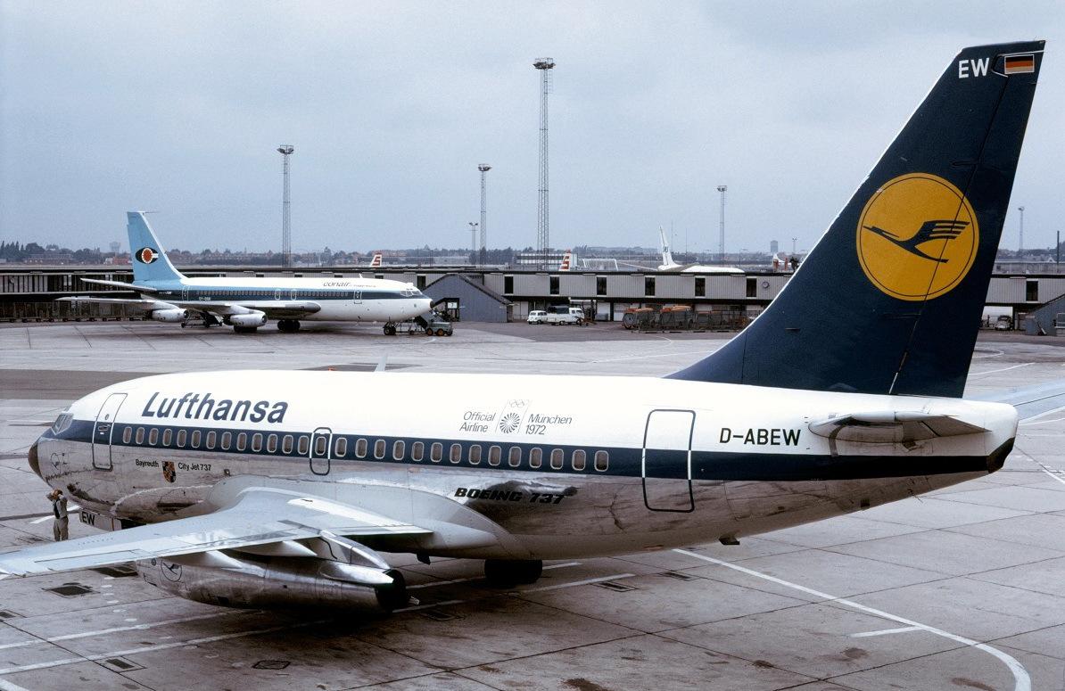 德国汉莎航空飞机图集