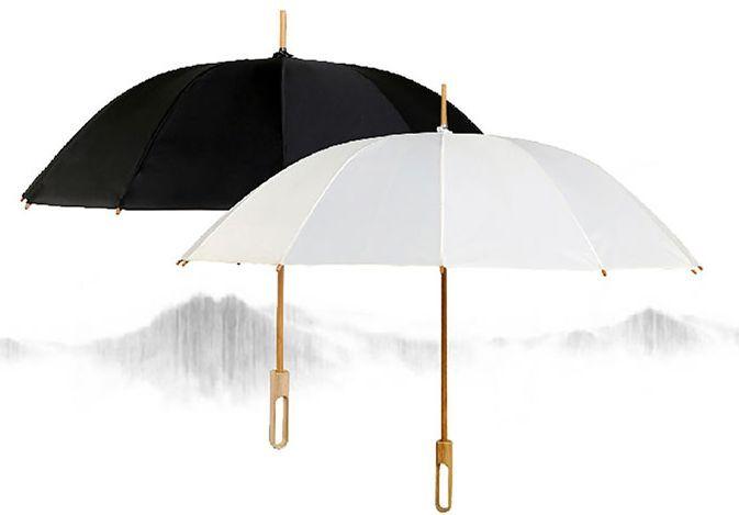 """"""" 你好,在下冷清秋"""" 古风情侣款 伞内是对应性别的绘制 别致有趣 撑伞"""