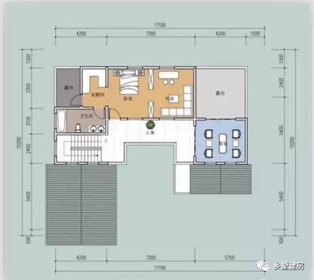 四套中式别墅实景 平面设计图,但第四套真的不好看啊