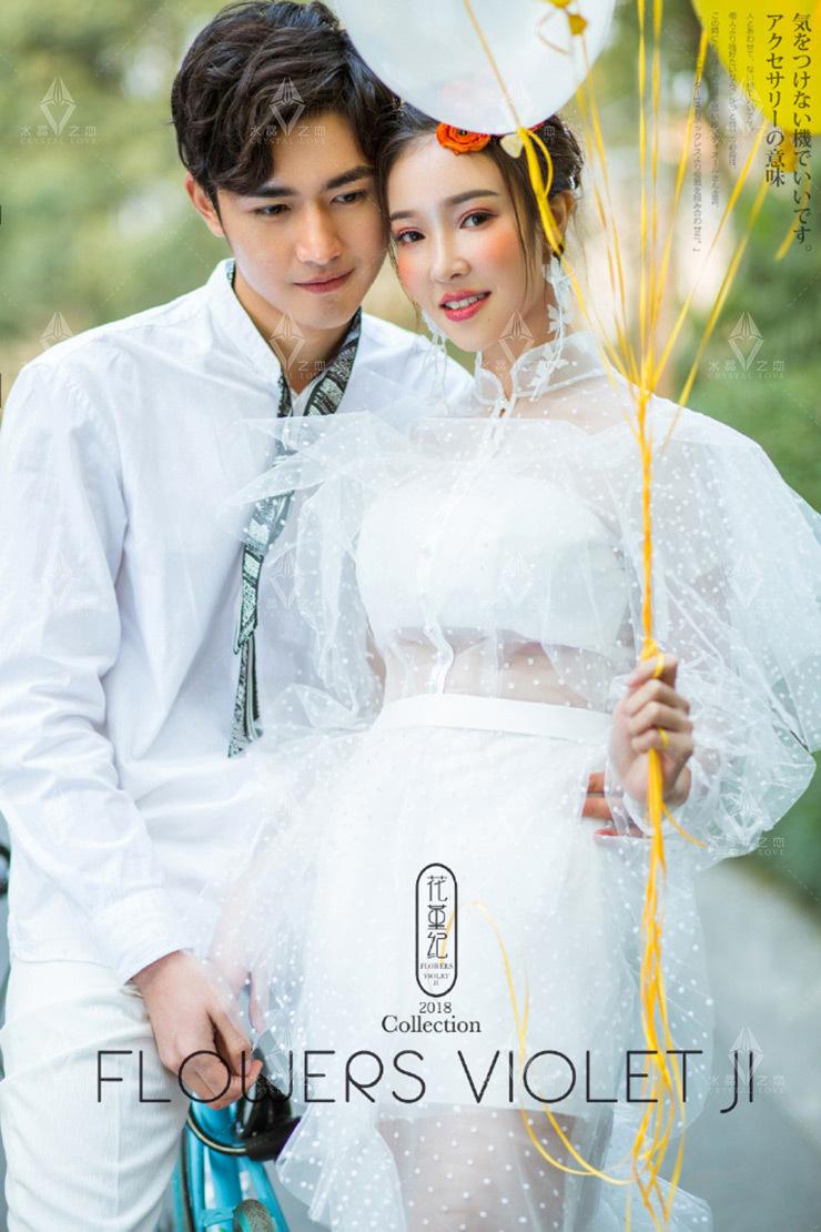 扬州哪拍婚纱照好_扬州拍婚纱照哪家好 你适合穿V领婚纱么