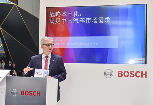 博世全球董事Rolf Bulander:中国智能网联业务拉动整体销售额,电池未来15年是红海