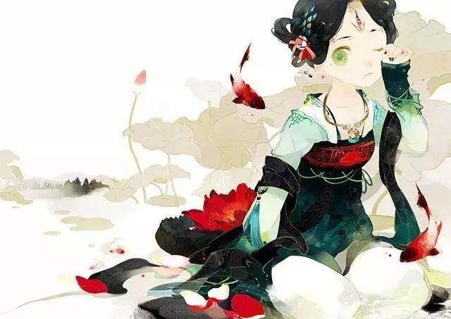 《沙海》小说插画(《漫绘shock》连载版)/原作:南派三叔