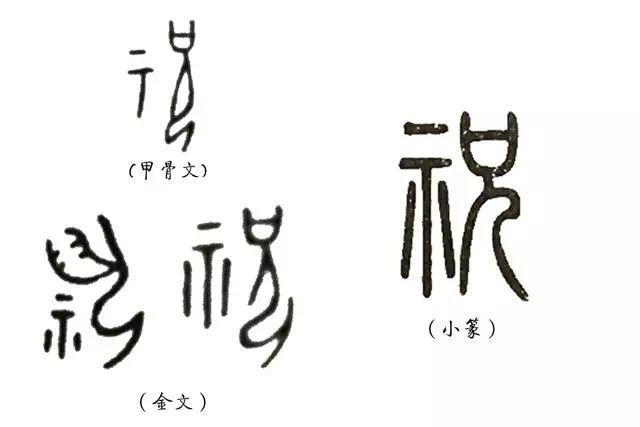 说文解字 第八课 从汉字看先民们祭祀的种类图片