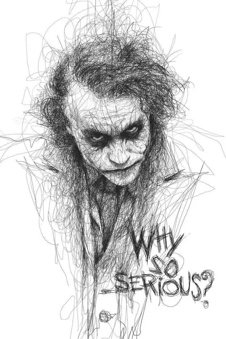 铅笔画人物